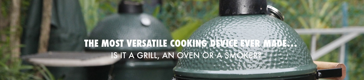 The Big Green Egg BBQ and Smoker