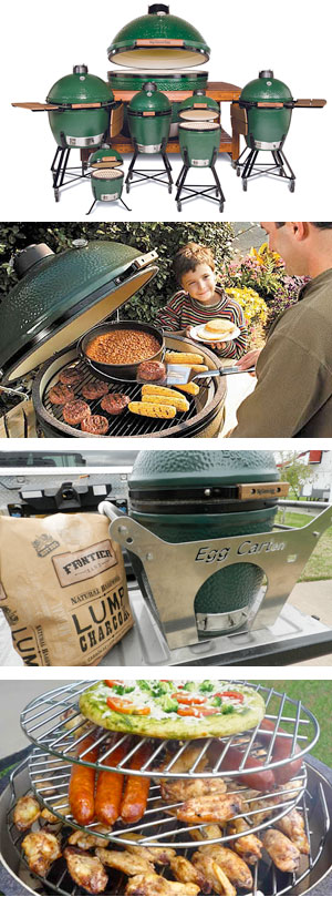 The Big Green Egg BBQ Smoker